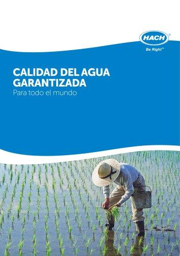 Print PDF Page   Datasheets/BrochuresTypeLanguageSizeDateEdition CALIDAD DEL AGUA GARANTIZADA Para todo el mundo