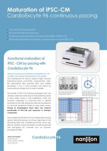 Maturation of iPSC-CM