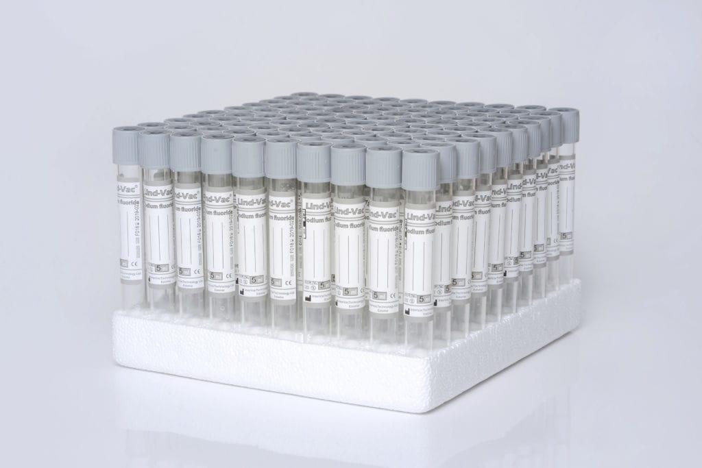 Tubo de extracción de sangre / para el análisis de la