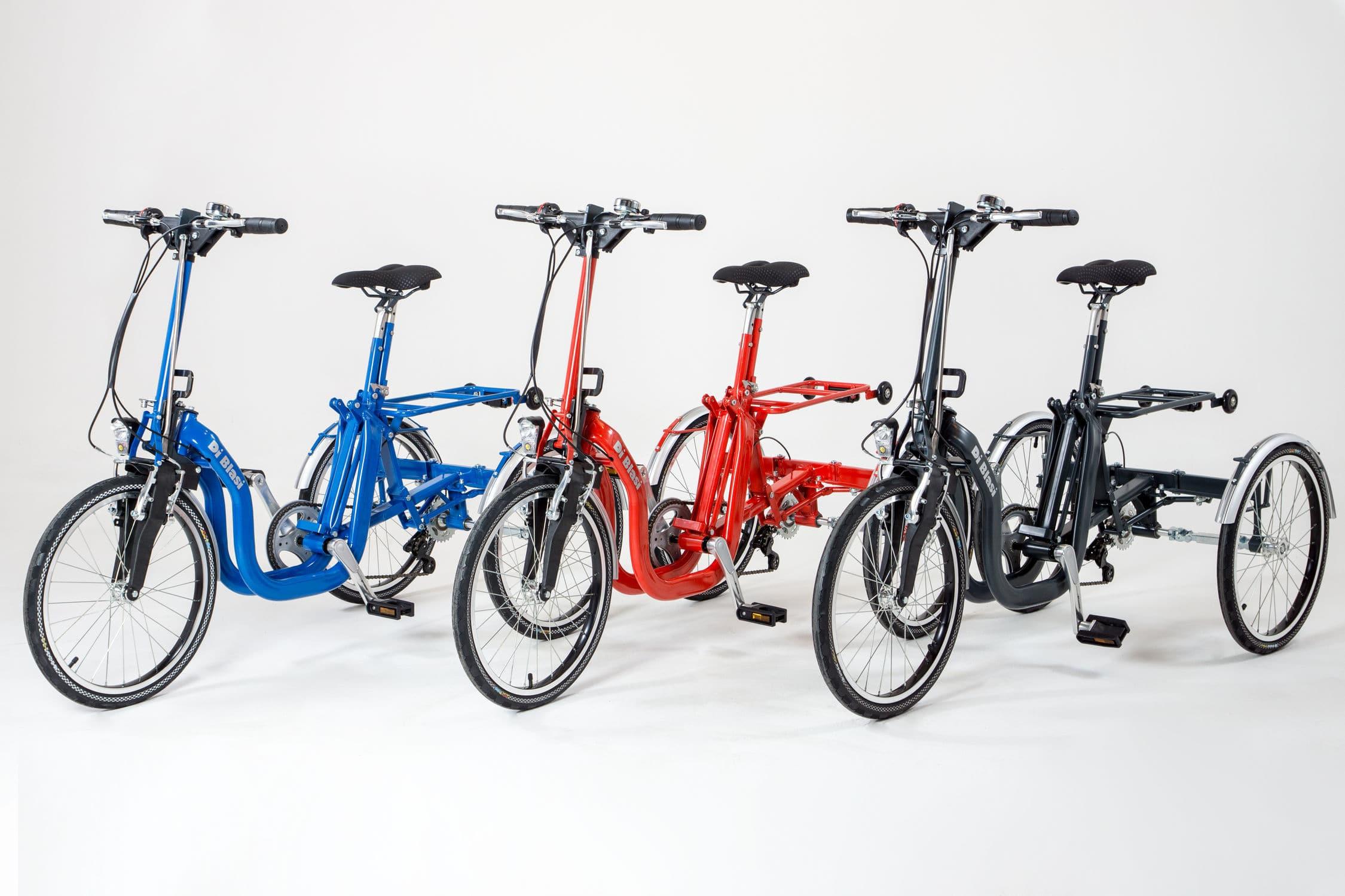 Bici Pieghevole Di Blasi.Triciclo Ortopedico Para Adulto Plegable Con Palancas