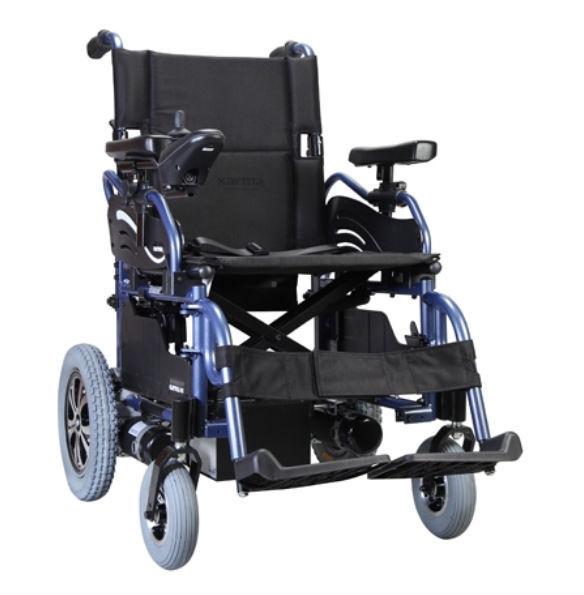 silla de ruedas electrica plegable karma