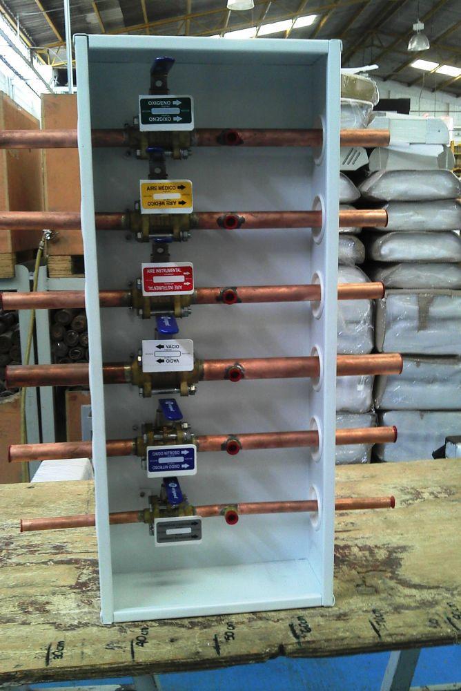 Tipos de conectores para gases medicinales