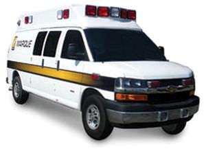 ambulancia furgoneta / tipo II