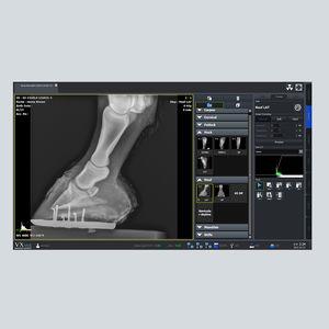 software de gestión / visualizador / de adquisición / de radiografía