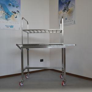 carro de esterilización / para cámara de esterilización / de transporte / de almacenamiento