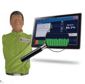 maniquí de prácticas para RCP / torso / con retroalimentación en tiempo real
