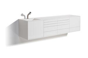 mueble de uso general / para clínica dental / con puerta / con cajón