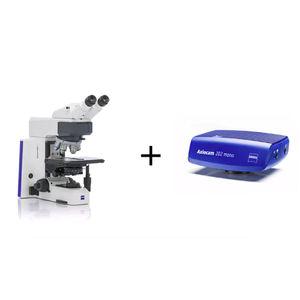 microscopio de laboratorio