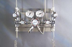 colector para gas médico semiautomático