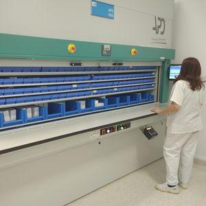 sistema de gestión y de almacenamiento logística