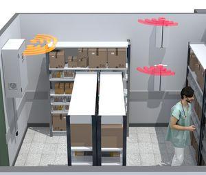 sistema de gestión y de almacenamiento logística / RFID / de medicamentos / de la información