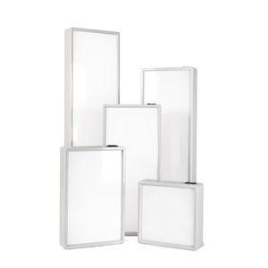 negatoscopio 1 pantalla / de luz blanca / vertical