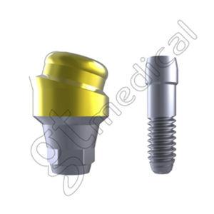 pilar para implante en ángulo / de titanio / hexágono interno / Locator®