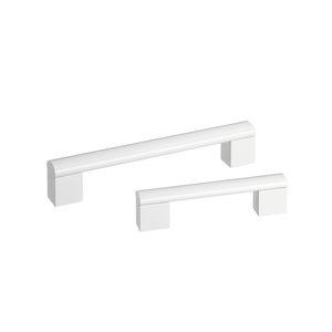 asidero de puerta de hospital / de aluminio / antibacterias / desinfectante