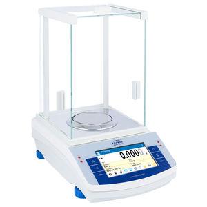 balanzas de laboratorio electrónicas / de farmacia / de investigación científica / para salas blancas