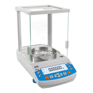 balanzas de laboratorio de precisión / analíticas / con indicador digital / de mesa
