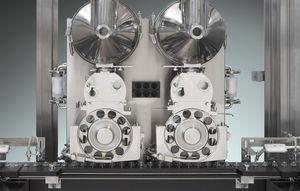 llenadora para polvo / automática / servoaccionada / lineal