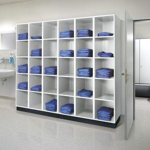 taquilla de almacenamiento / multifunción / para lavandería / de hospital