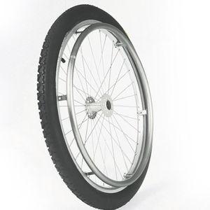 rueda para silla de ruedas