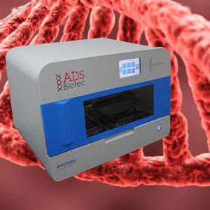 estación de trabajo de laboratorio para extracción de ácidos nucleicos