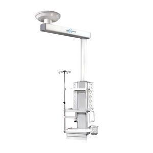 brazo de distribución / de techo / con estantes / con columna