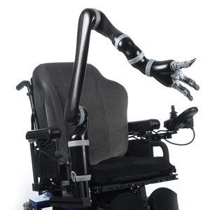 brazo robotizado pick and place / de asistencia / de nutrición / para silla de ruedas