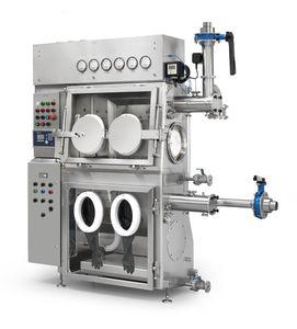 aislante de contención / de muestreo / de secado / para filtración