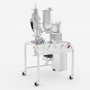 sistema de micronización de chorro de aire / para la producción / de laboratorio / para la industria farmacéutica