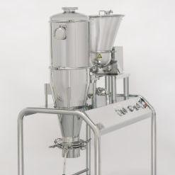sistema de micronización de chorro de aire / piloto / para la industria farmacéutica / para I+D