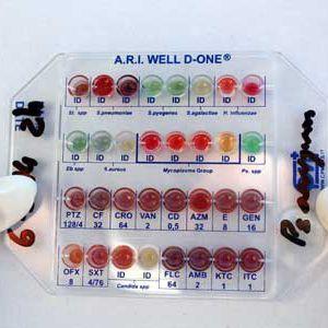 kit de prueba para análisis de identificación