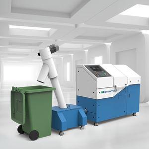 sistema de tratamiento de desechos médico / in situ / con trituradora / con desinfección automática