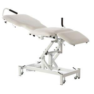 mesa de exploración para ecografía / para ecocardiografía / eléctrica / neumática