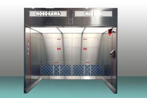 cabina para la industria farmacéutica