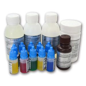 kit de reactivos para análisis de orina / líquido