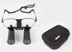 lupa binocular con montura / frontal