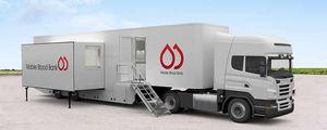 unidad móvil hospitalaria para extracción de sangre