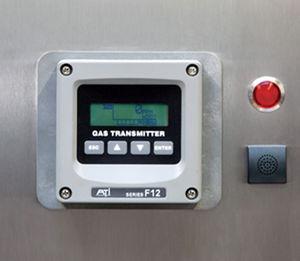 sistema de monitorización de temperatura / de humedad / de laboratorio