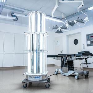 sistema de desinfección móvil / para ambulancias / para unidades dentales / UV
