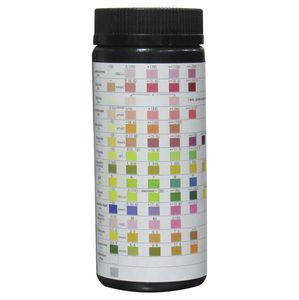 tira de prueba para análisis de orina / de pH / de proteínas / de glucosa