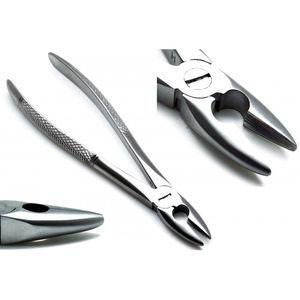 fórceps de extracción dental pediátricos / para raíces dentales / para molares superiores / para molares inferiores
