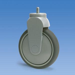 rueda de poliuretano / de poliamida / fija