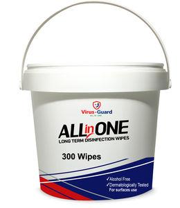 toallitas limpiadoras para la desinfección de superficies