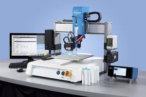sistema automatizado de distribución robotizado