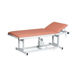 mesa de exploración eléctrica / de altura variable / de 2 secciones / bariátrica