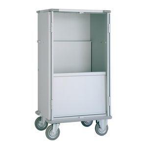 carro de transporte / de carga / para ropa limpia / para ropa sucia