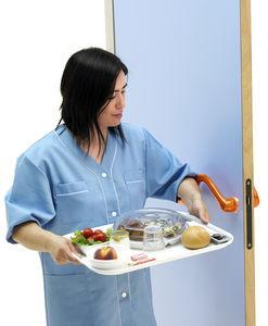 asidero para establecimiento abierto al público / de puerta de hospital / de polipropileno / antibacterias