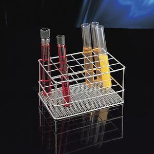 soporte de laboratorio para tubos de ensayo