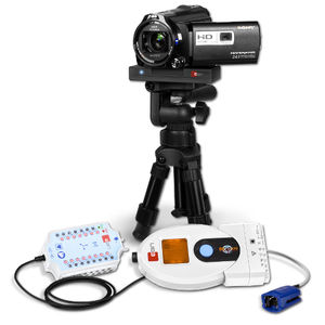 electroencefalógrafo 21 canales / para monitorización ambulatoria / para monitorización de larga duración / para monitorización pediátrica