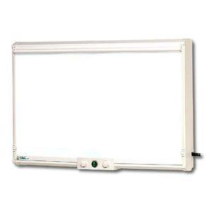 negatoscopio 1 pantalla / de luz blanca / con interruptor / vertical