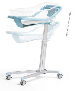 cuna hospitalaria ajustable en altura